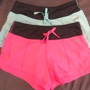 2 Pair Workout Shorts